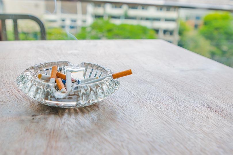 efectos del tabaco en casa